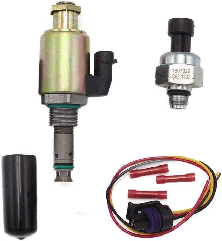 IPR /& ICP Fit Ford 6.0L Super Duty Fuel Pressure Regulator /& Sensor w// Connector