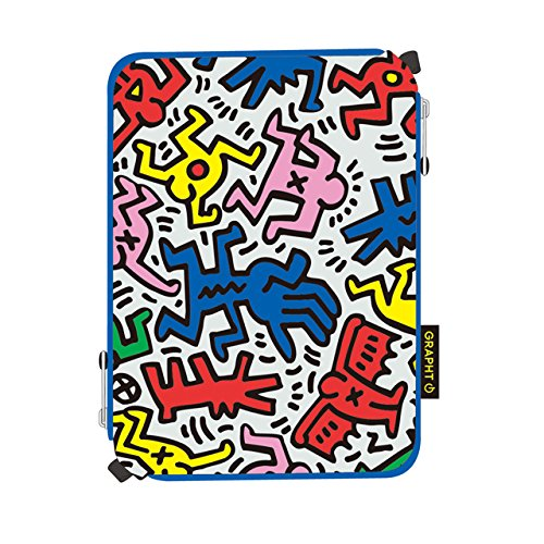 GRAPHT Keith Haring Official Licensed Collection Sleeve for iPad mini, Chaos (APA07-003CH)