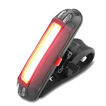 WOTUMEO Bicicleta Luces Traseras USB Recargable Impermeable Super ...