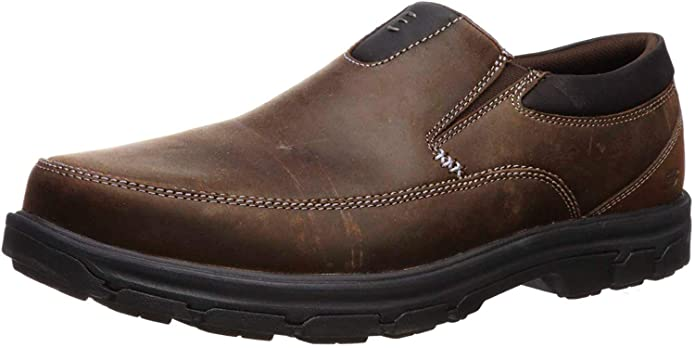 Mens Segment The Search Slip On Loafer, Brown, Size 8.0
