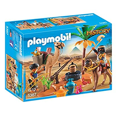 Playmobil 5387 Egyptian Tomb Raider's Camp: Toys & Games