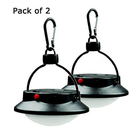 AceList Pack Of 2 Ultra Bright Camping Light 60 LED Tent Lantern For Outdoor