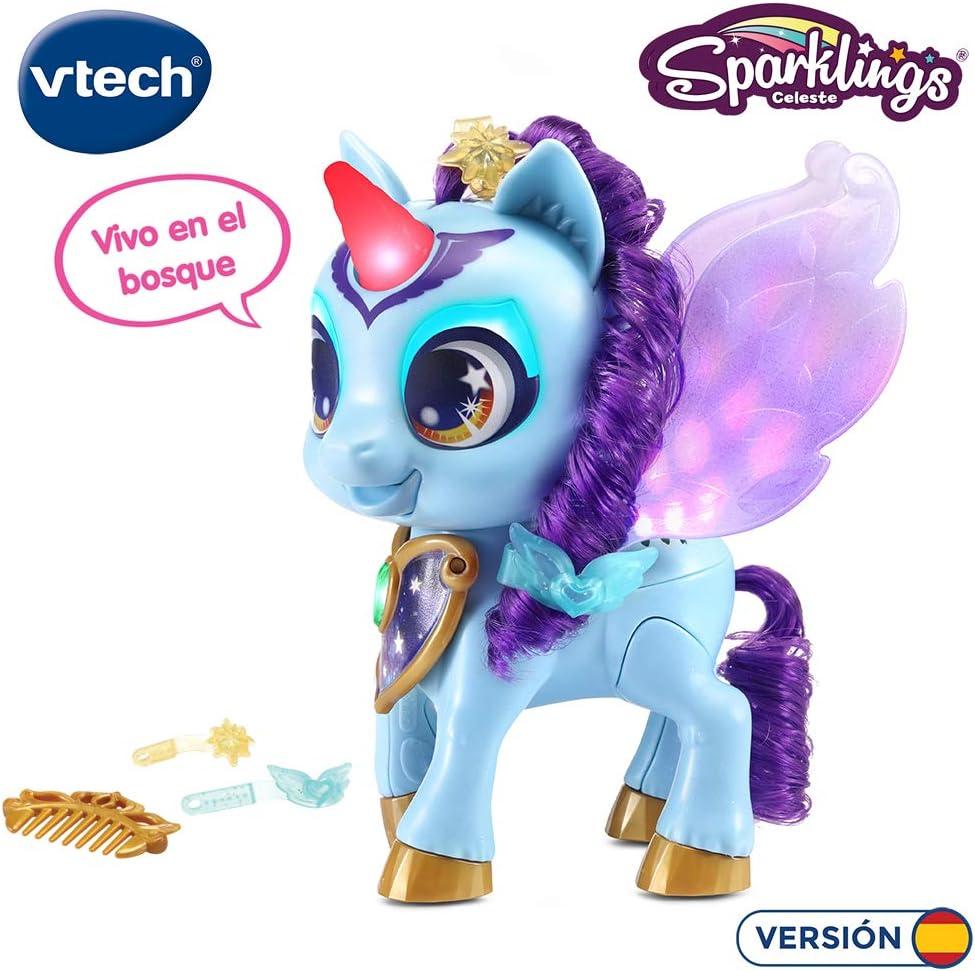 Muñeco interactivo Unicornio Sparklings Celeste por 20,24€ ¡¡30% de descuento!!