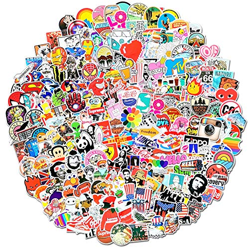300-Pcs Featured Stickers,Suitable For Children And Adults Of All Ages,Fast Shipped By Amazon. Decals Vinyls For Laptop,Kids,Cars,Motorcycle,Bicycle,Skateboard Luggage,Bumper