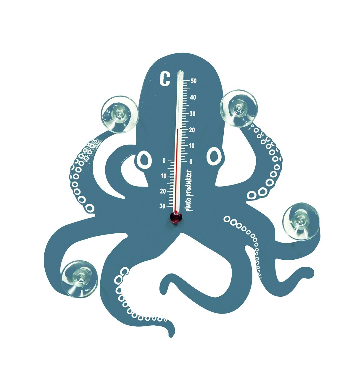 Octopus Thermometer ~ Pluto Produkter Sweden TE230