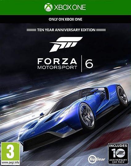 Microsoft Forza Motorsport 6, Xbox One vídeo - Juego (Xbox One, Xbox One, Racing, Modo multijugador, E (para todos)): Amazon.es: Videojuegos