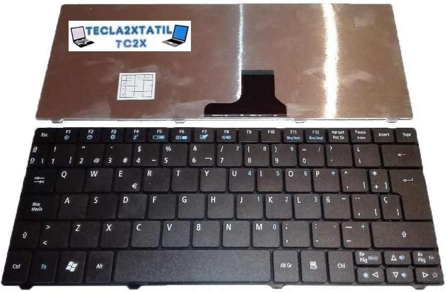 Teclado para Acer Aspire One 722 EN ESPAÑOL Negro