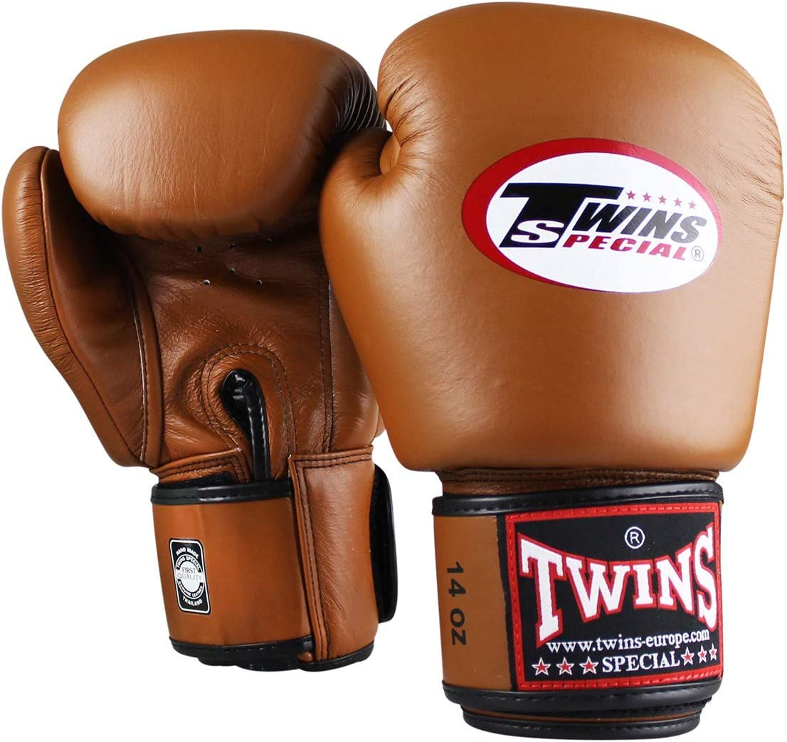 muay thai kickboxing boxing gloves for MMA black Twins special boxing gloves BGVL 3/Air made of leather sparring