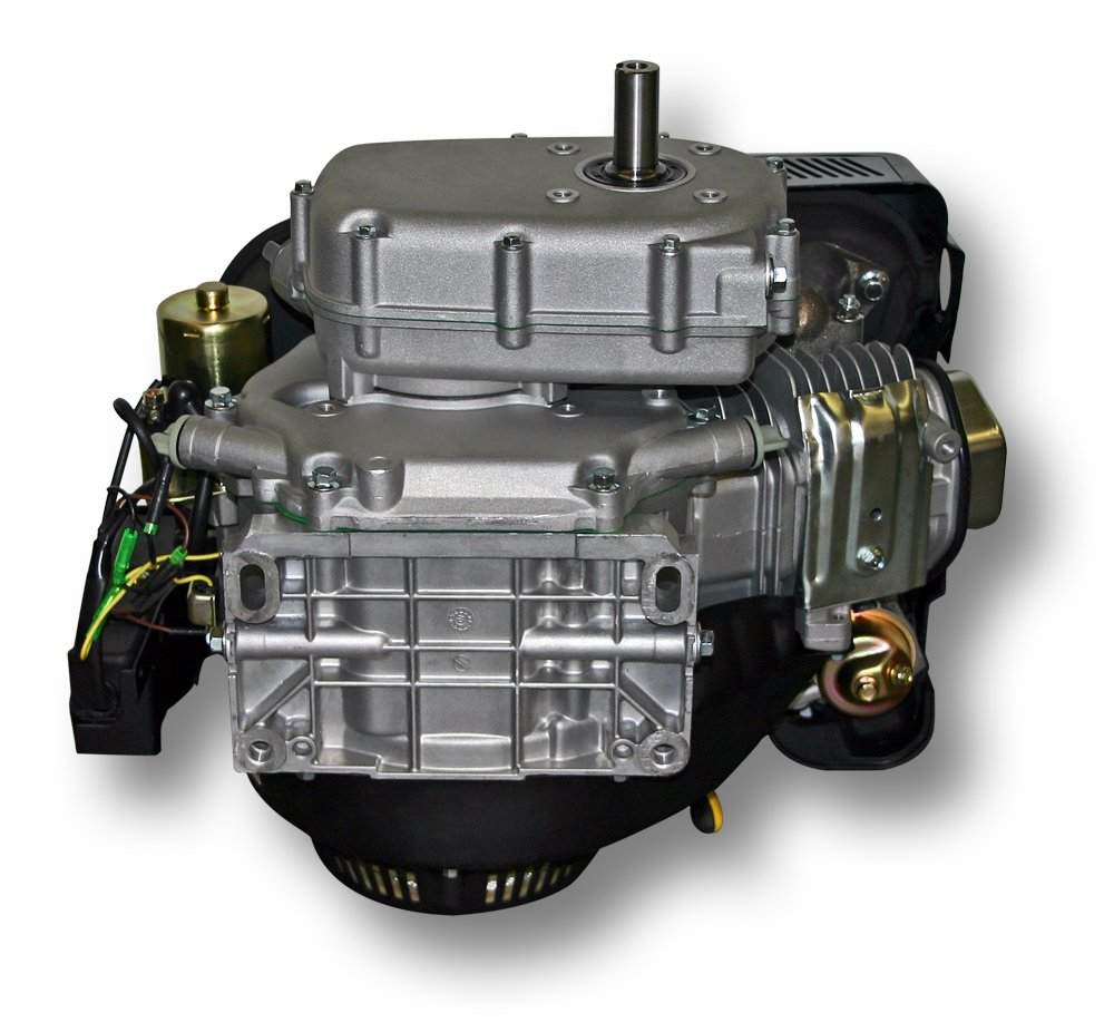 Motor de gasolina LIFAN 177 6, 6kW (9CV) con embrague en baño de aceite y E-Start: Amazon.es: Jardín