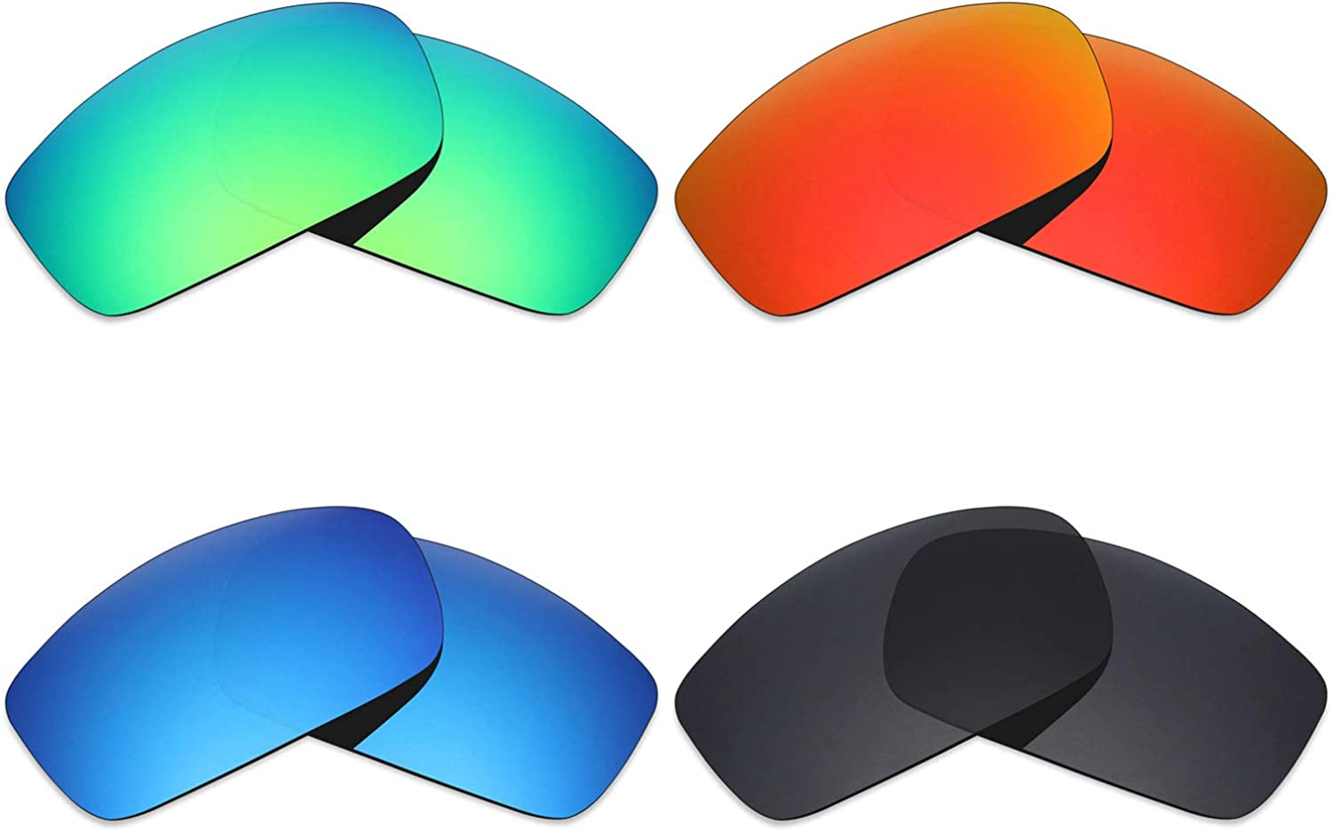 Polarized IKON Replacement Lenses For Costa Del Mar Fisch Ice Blue