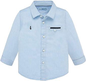 Mayoral Camisa de bebé Elegante M/L, 6 Meses (68 cm), Azul Claro: Amazon.es: Ropa y accesorios