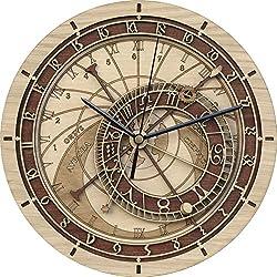 Wooden Prague Astronomical Clock
