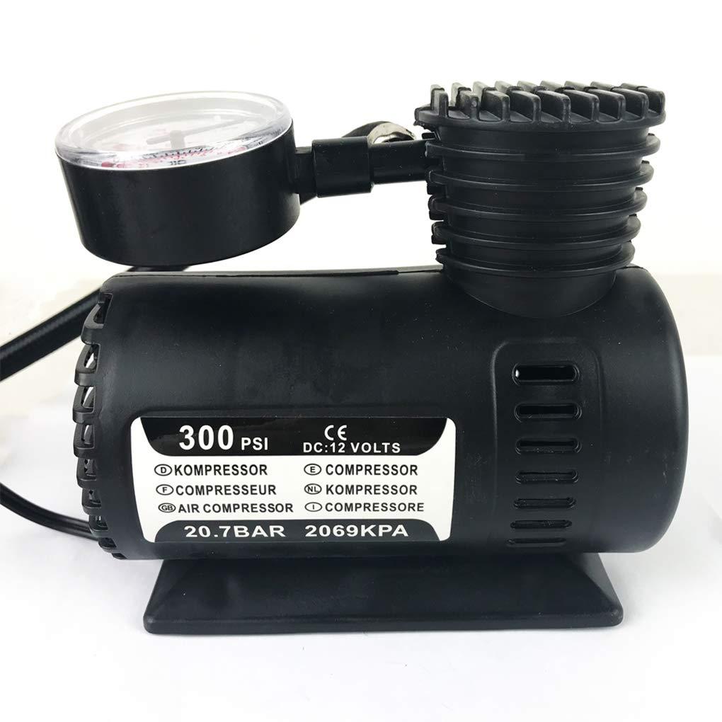 Provide The Best 12V 300PSI r/ápido Que infla el Coche el/éctrico Compacto Mini compresor de Aire de la Bici de la Bomba para inflar con Aire del neum/ático Cama Globo