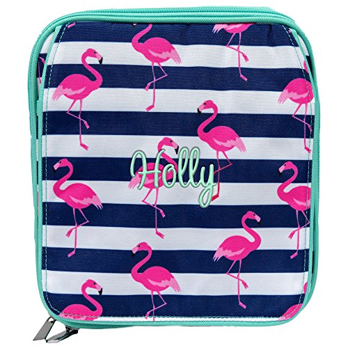 (Personalized Insulated Pink Flamingo Lunch Bag (Personalized))