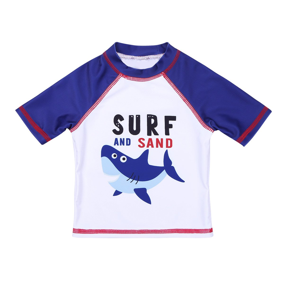 e6ebd0c5e4d6b iiniim Children Boys Tankini Shark Pattern Long/Short Sleeves Swimsuit  Swimwear Bathing Suit Set Tops with Bottoms Swimming Cap: Amazon.co.uk:  Clothing