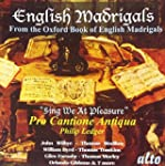 PRO CANTIONE ANTIQUA - VARIOUS:  ENGL...