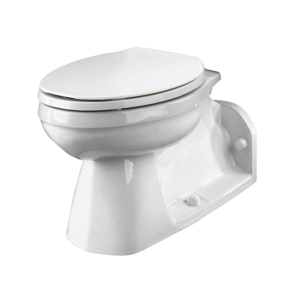 Ultra Flush Floor Mount Back Outlet Bowl