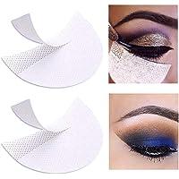 100 Pcs Eyeshadow Pads Stencils, HOMIEST Professional Eyeshadow Shield Eyeshadow Patches for Eye Makeup Supplies