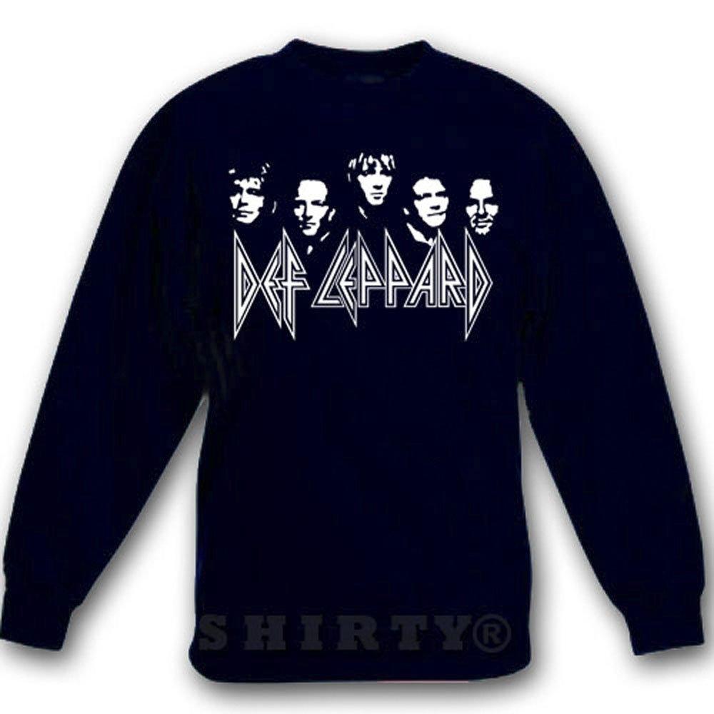 Def Leppard - Sweat - Shirt - schwarz - S bis 5XL - 1058