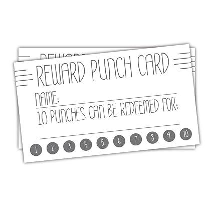 Amazon 50 deco line reward punch cards business customer 50 deco line reward punch cards business customer loyalty cards teacher incentive cards colourmoves