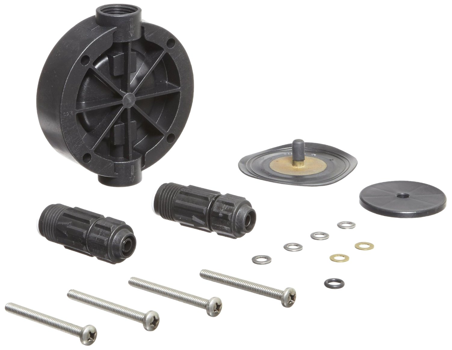 Pulsafeeder K7KTC3 Pump Repair Kit, Pulsatron, Includes Head, Diaphragm, Suction And Discharge Valves, Screws And Washers