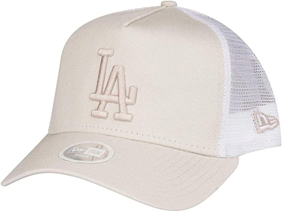 New Era Damen Trucker Cap Los Angeles Dodgers schwarz