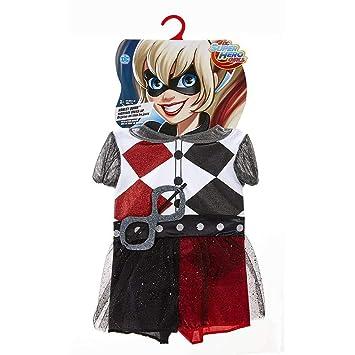 Disfraz de Harley Quinn para niñas y para Todas Ocasiones de Superhéroes de DC  Comics df76566fdf92