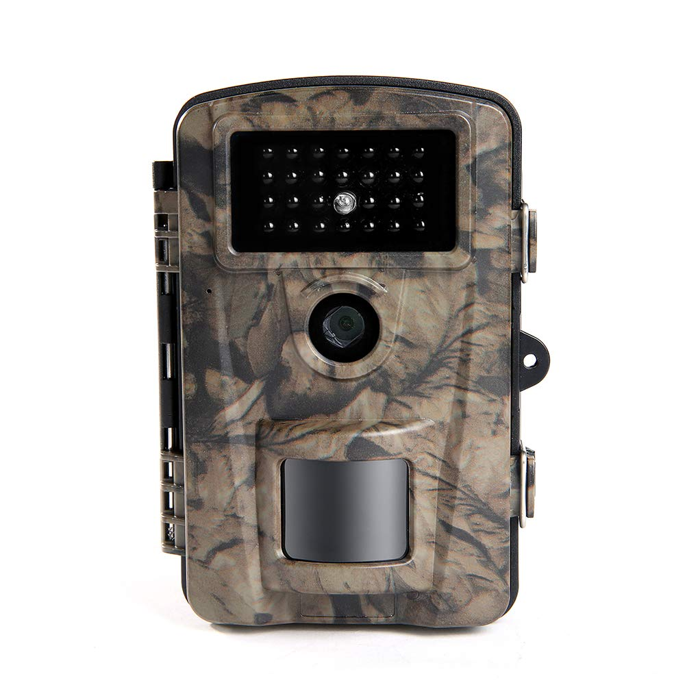 Siensen Trail Camera 12MP 1080P 2.4'' LCD Wildlife Hunting Camera with 90° Wide Angle, Night Vision Up to 65ft/20m, IP66 Waterproof Design Wildlife Surveillance Game Camera by Siensen (Image #1)