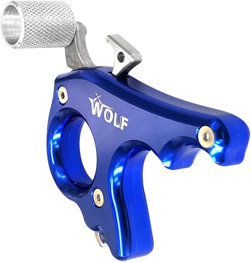 3 Finger Griff Bogenschie/ßen Daumen Ausl/öser Aluminium Gazechimp Compound Bow Release