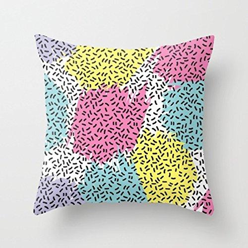 Poppylife Paint Splatter Cushion Cover Pillowcase 18