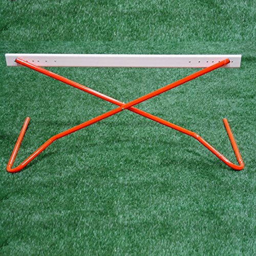Workoutz Scissor Track Hurdles (Set of 4) Fully Adjustable for Fitness Speed Agility Soccer Lacrosse and Football by Workoutz (Image #3)