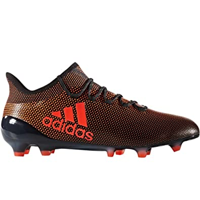 9816f03ceca adidas Men s X 17.1 FG-Black Red ...
