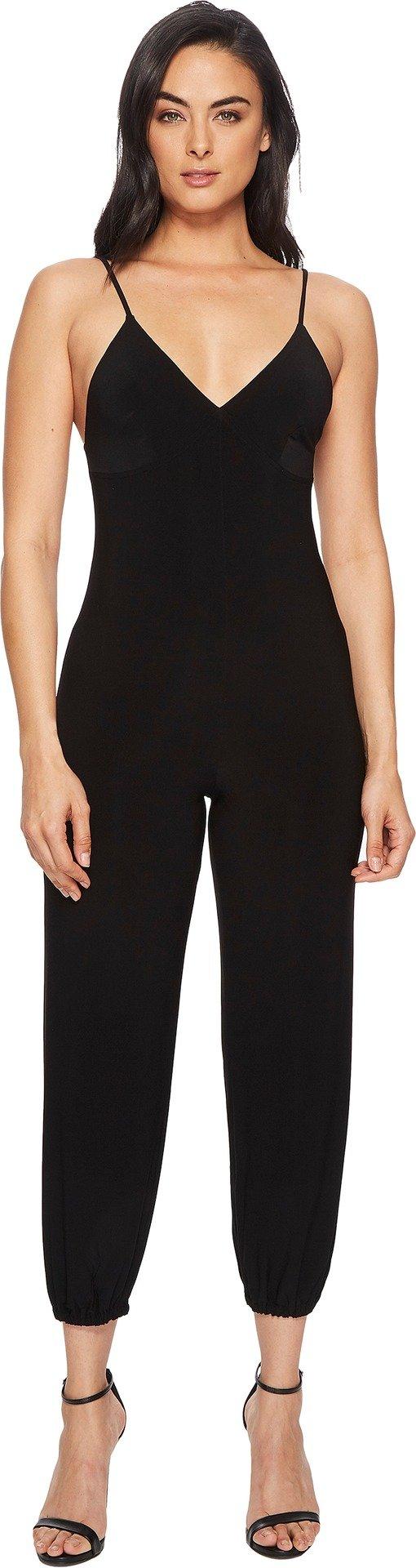 KAMALIKULTURE Women's Slip Jog Jumpsuit, Black, Medium by KAMALIKULTURE