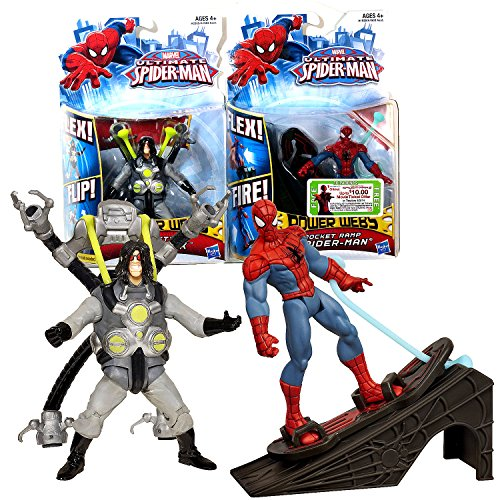 Hasbro Year 2012 Marvel Ultimate Spider-Man Power Webs Serie