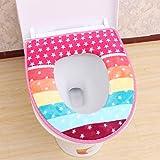 KICODE Closestool Mat Toilet Seat Cover Cartoon Pad Cushion Washable Soft Warmer Protector Bathroom Decoration