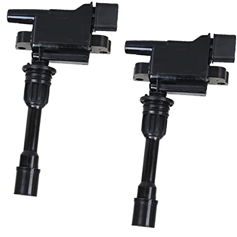 Set of 2 Ignition Coils for 2001 2002 2003 Mazda Protege 2002 2003 Mazda  Protege5 L4 2 0L 5C1208 FFY1-18-100