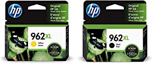 HP 962XL | Ink Cartridge | Yellow | 3JA02AN & 962XL | Ink Cartridge | Black | 3JA03AN