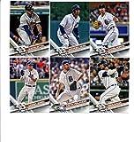 2017 Topps Detroit Tigers Complete Master Team Set of 29 Cards (Series 1, 2, Update) with Jordan Zimmermann(#40), Anibal Sanchez(#83), Cameron Maybin(#102), Francisco Rodriguez(#105), JaCoby Jones(#139), Miguel Cabrera(#150), Justin Verlander(#159), Justin Upton(#207), Mike Aviles(#240), Anthony Gose(#268), Daniel Norris(#339), Detroit Tigers(#394), James McCann(#418), Jose Iglesias(#441), Justin Verlander(#450), Ian Kinsler(#501), Nick Castellanos(#515), Mikie Mahtook(#550), plus more