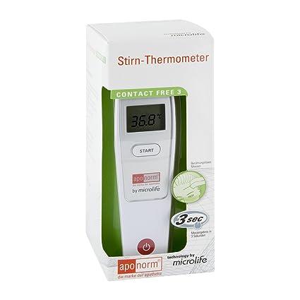 aponorm Termómetro frente Contact de Free 3 1 STK