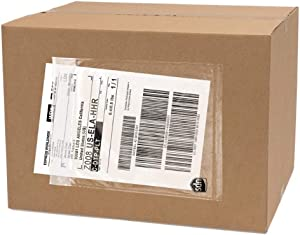 """250 Pack UPS Label Pouches 6.5"""" x 10""""