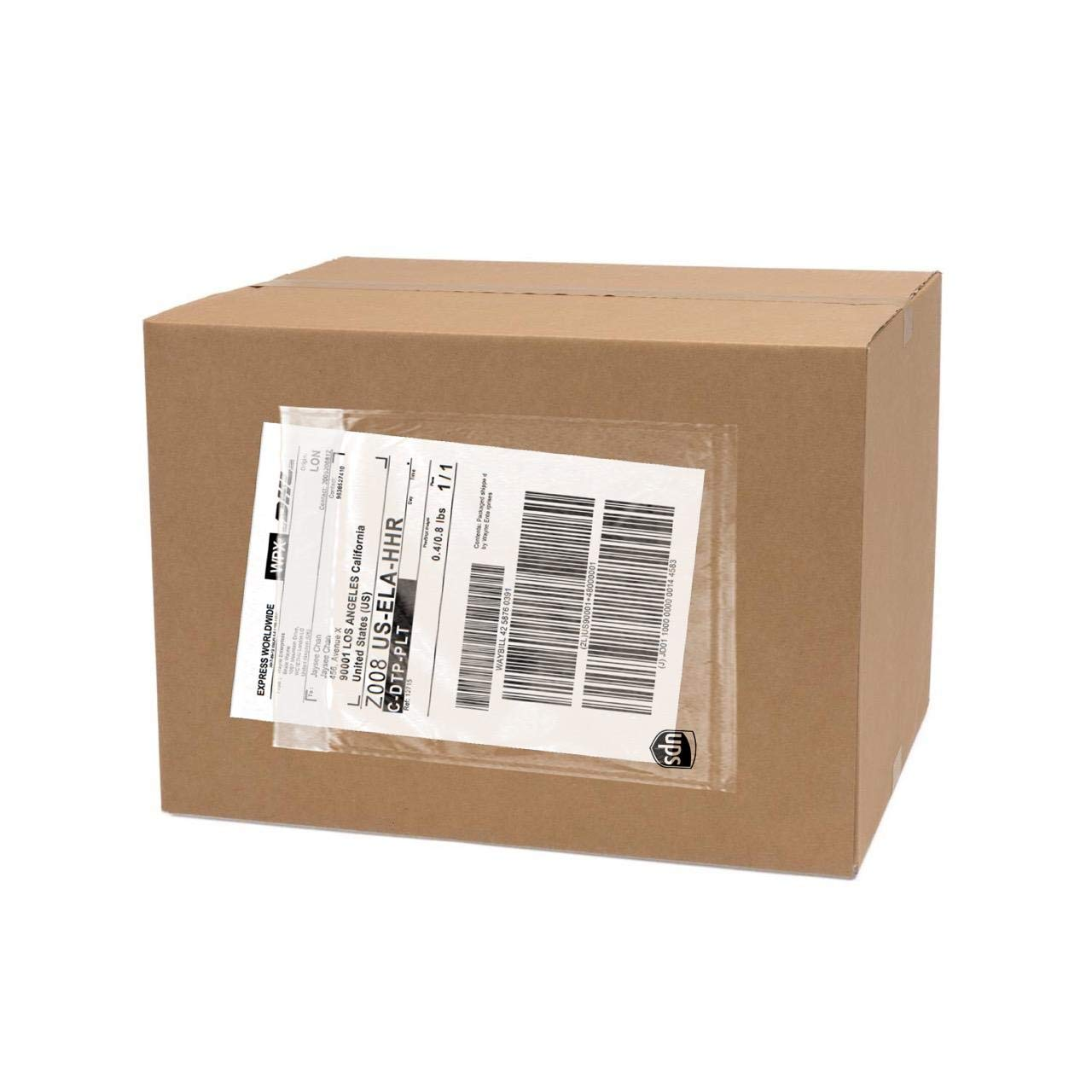 500 Pack UPS Label Pouches 6.5'' x 10''| Packing List Envelope | Commercial Grade UPS Pouches | Shipping Label Pouches | Mailing Pouches | UPS Pouches | UPS Label Pouch | Labels for Storage Bins by All Shipping Supplies Inc.