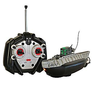 Mini submarino Radiocontrol U-Boat 1/144. Emisora incluida: Amazon.es: Juguetes y juegos