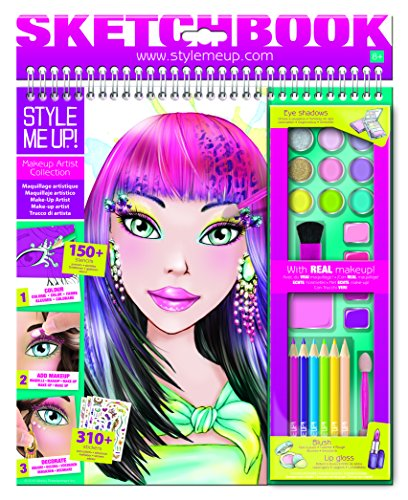 Style Me Up! Make-Up Sketchbook]()