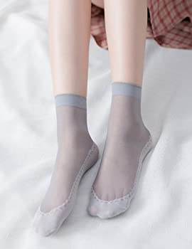 Nylon Autumn Winter Wide Mouth Short Stockings Thick Silk Low Cut Ankle Socks