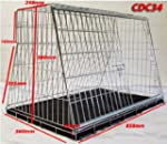 "34"" SLOPING DOG CAR CAGE BOOT TRAVEL..."