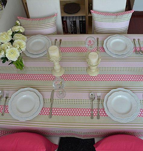 Tablecloth WERLM Tischdecke Wave Gepunktete Restaurant Tischdecken rechteckige Tischdecke, 140  180 cm. B07CPW1XV7 Tischdecken Ausgezeichnet  | Up-to-date-styling
