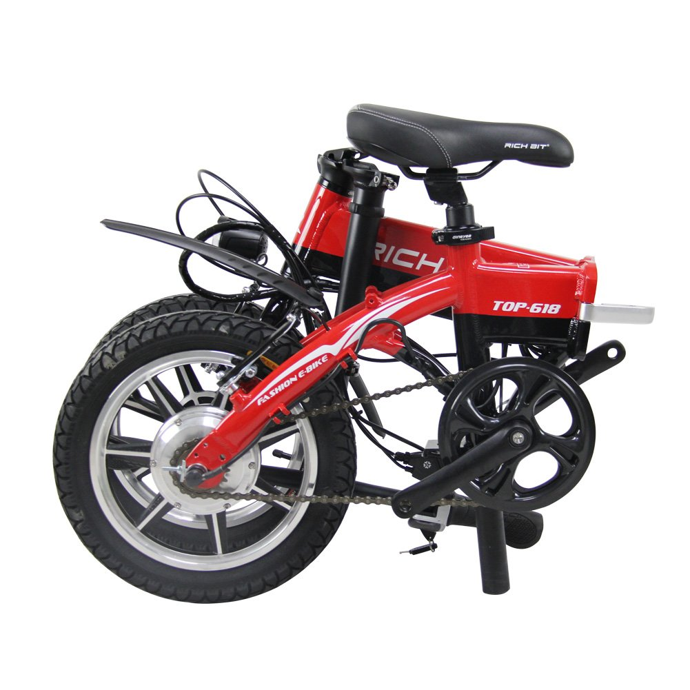 ... eléctrico bicicletas BMX VTC bicicletas de ciudad 250 W * 36 V V Frenos 14 pulgadas bicicleta ebike acelerador de Option Mini bicicletas richbit rt- 618 ...