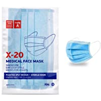 50 Pcs Disposable Face Masks | New Zealand Brand Jema Rose X-20 | Guaranteed Delivery Within 2 Business Days | Free…