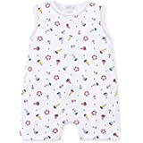 0a47ec572d4 Kissy Kissy Baby-Boys Infant Summer Sails Print Sleeveless Short Playsuit