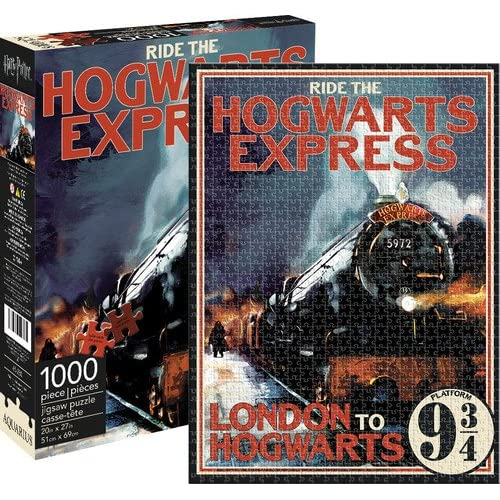 Aquarius Harry Potter Hogwarts Express 1,000pc Puzzle